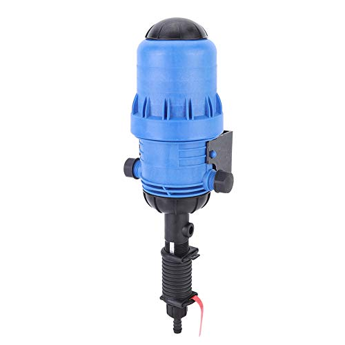 0.4%~4% Adjustable Fertilizer Injector,Automatic Fertilizer Injector Water Powered Chemical Liquid Doser Dispenser 20L/H-2500L/H Drip Irrigation Injector for Industry Garden Hose Livestock