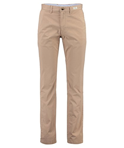 Tommy Hilfiger Herren Core Denton Straight Chino Hose, Beige (Batique Khaki 264), W33/L30