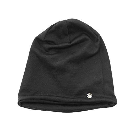 Kidneykaren wol beanie sjaals – zwart, één maat