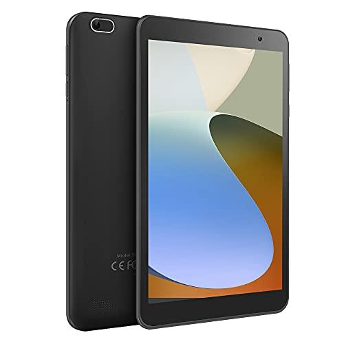 Tablet 8 inch, Android OS, 2 GB RAM, 32 GB Storage, IPS HD Display, Quad-Core Processor, Dual Camera, GPS, FM, Wi-Fi