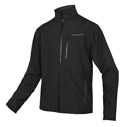 Endura Hummvee - Chaqueta impermeable para ciclismo MTB (2,5 capas, impermeabilizante) - negro - Medium