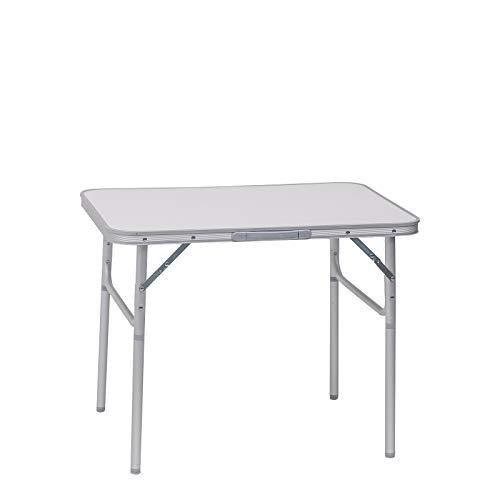 WOLTU Campingtisch Klapptisch Alu Gartentisch Arbeitstisch Balkontisch Reisetisch,75x55x25,5-58,5cm, Tischplatte aus MDF CPT8131ws