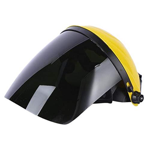 dailymall Máscara Protectora de Seguridad Casco de Molienda de Pantalla de Protección de - Amarillo