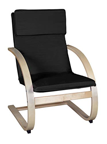 Niche Mia Bentwood Reclining Lounge Chair, 26.5