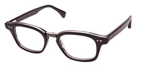 Dita INTELLIGENTE DRX-2050-A-BLK-SLV-48 Eyegalsses Matte Black-Black Swirl - Antique Silver 48mm