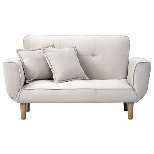 æ— Sofá cama de 2 plazas, sofá cama de terciopelo con agarradera, sofá de 2 plazas, sofá reclinable para dormitorio de adultos, oficina, sala de recepción