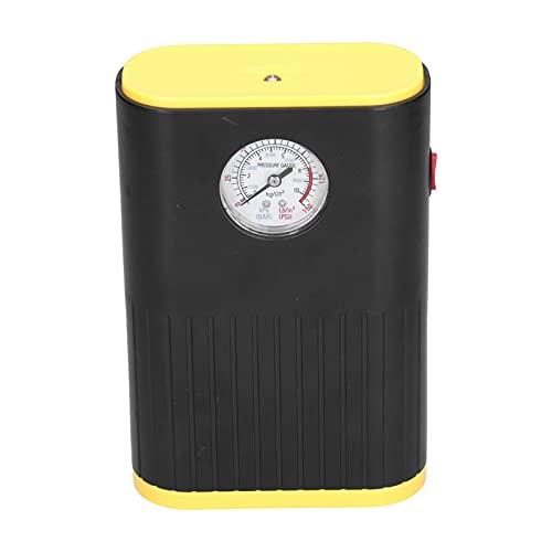 Compresor de aire portátil Inflador de neumáticos, bomba de aire Compresor de aire para automóvil Inflador de neumáticos Mini indicador de bolsillo Pantalla LED Luz 12V 120W