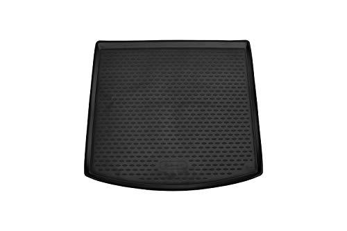 Element EXP.ELEMENT4404N11 Passgenaue Premium Antirutsch Gummi Kofferraumwanne - SEAT Leon ST, Kombi - Jahr: 13-20, schwarz, Passform