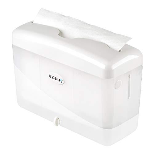 "EZ-PUll Countertop Slimfold Paper Dispenser, 9"" x 3.5"" x 6"", White"