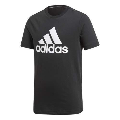 adidas Boy's BOS T-Shirt,Black/White,S/P