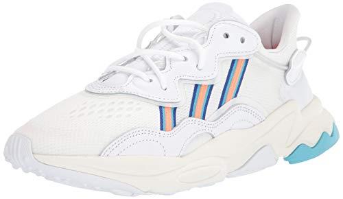 adidas Originals Ozweego - Zapatillas deportivas para mujer, Blanco (Ftwr Blanco/Signal Coral/Blue Glow), 41 EU