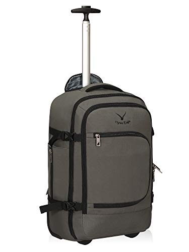 Hynes Eagle 40L Trolley Backpack Cabin Bag Carry on Luggage Handle Luggage Fits 17 inches Laptop