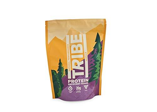 TRIBE Vegan Protein Powder - Vanilla + Cinnamon - Vegan, Gluten & Dairy Free (500g / 12 Servings)