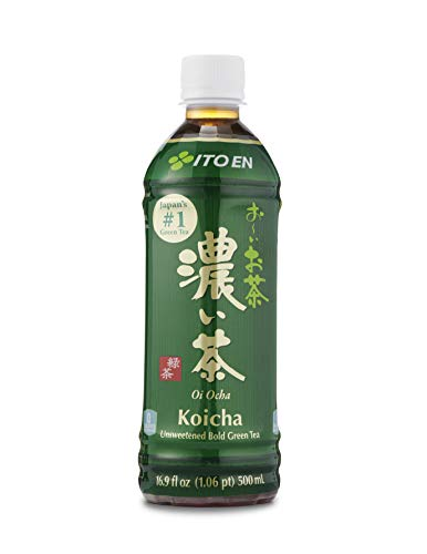 Ito En Oi Ocha Unsweetened Bold Green Tea 16.9 Ounce (pack Of 12) Unsweetened Zero Calories with Antioxidants Excellent Source of Vitamin C Product of Japan