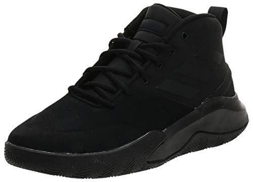 Adidas OWNTHEGAME, Zapatillas Baloncesto Hombre, Negro (Core Black/Core Black/Core Black), 42.67 EU