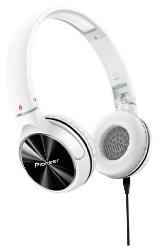 Pioneer ヘッドホン 密閉型/オンイヤー/折りたたみ式 ホワイト SE-MJ542-W 【国内正規品】