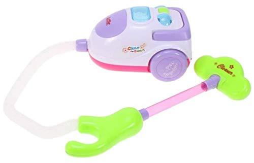 Premium Kinderstaubsauger mit Saugfunktion & Batteriebetrieb - Staubsauger Spielzeug Sauger Spielsauger Vacuum Cleaner Ministaubsauger Spielzeugstaubsauger Staubsauger für Kinder - Marke HUKITECH