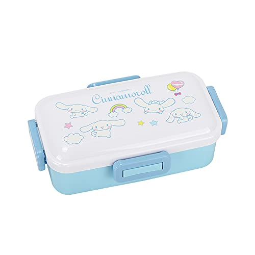 Cinnamoroll Lunch Box Adult Ladies Men Children My Melody Leakproof Eco-friendly Lunch Box Food Storage Jar (Color : Blue)