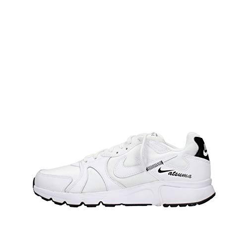 Nike Atsuma, Scarpe da Ginnastica Uomo, Bianco, 43 EU