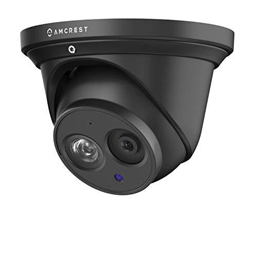 Amcrest 4K UltraHD PoE Outdoor Security Camera, IP Surveillance Camera, 3840x2160, 164ft NightVision, 2.8mm Lens, IP67 Weatherproof, MicroSD Recording (128GB), Black (IP8M-T2499EB)