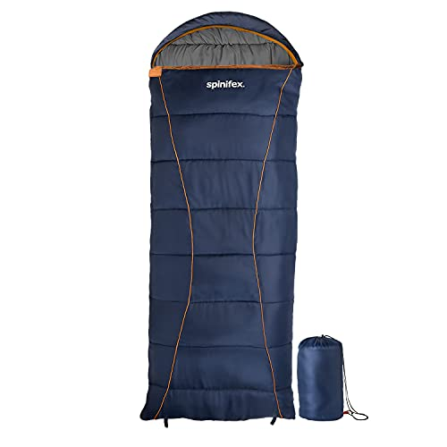 Spinifex Sleeping Bag | Cozy and Thick Sleeping Bags Delivers Extra Warmth | Advanced Hollow Fiber...