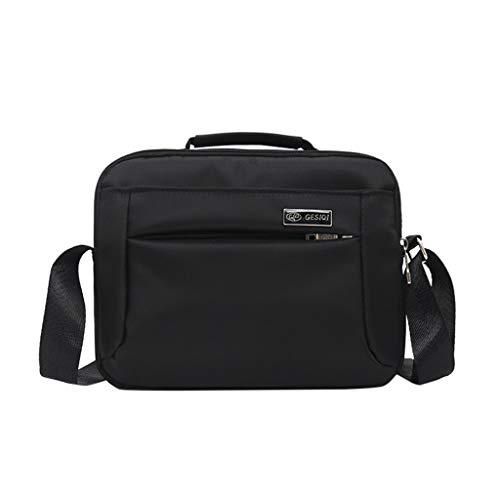 FBGood Herren Umhängetaschen Geschäft Aktentasche Einfarbig Laptoptasche wasserdichte Schulterrucksack Oxford Arbeitstasche Schultertasche Männer Draussen Kuriertaschen