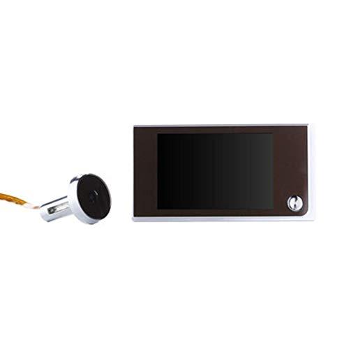 Libila 3,5-inch zichtbare kattenoog 120 graden groothoek-elektronische kattenoog-deurspiegel
