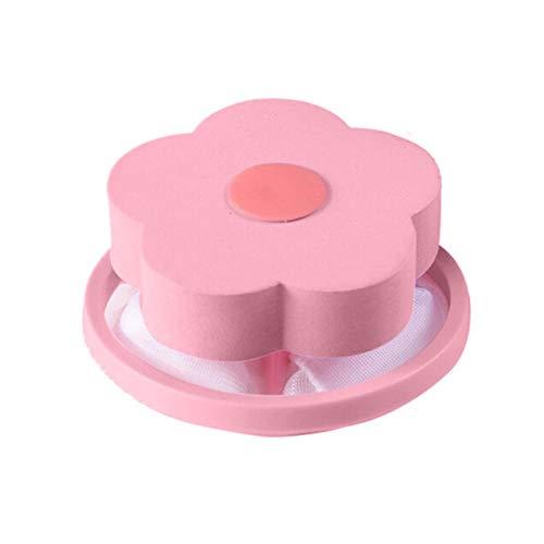 Huien Outfall Zeef Wastafel Filterzak Mesh Antiblokkering Afvoerputje Haarstopper Catcher Keukenwasser Reiniging accessoire, Roze