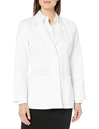 CHEROKEE Women's Fashion White 28' Lab Coat, Small