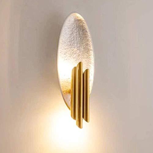 Wandbeleuchtung Lampe Gold Silber Folie Papier Wandleuchten E14 Wohnzimmer Lampe Schlafzimmer Eingang Hotel Aisle Schmiedeeisen Wandleuchte 110-220V Wandstahler
