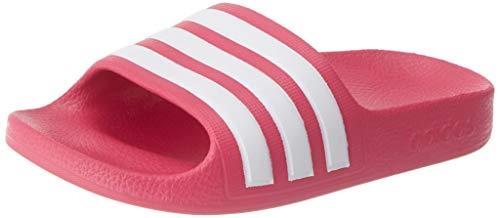 Adidas Unisex Kinder Adilette Aqua Dusch-& Badeschuhe, Pink (Real Magenta/Footwear White/Real Magenta), 28 EU