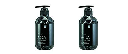AGA ナチュラルスカルプシャンプー 450ml ×2セット