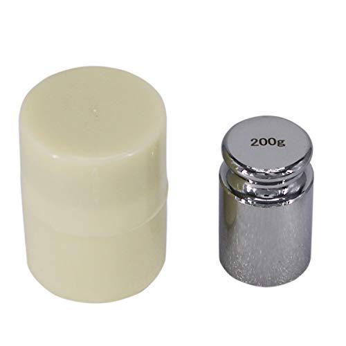 HFS(R) 分銅 200g 単体 0.2kg はかり 秤用 測定器 おもり 天秤 てんびん 校正分銅 高精度 力学実験 化学 物理学 クロムメッキ 校正グラムスケール M1