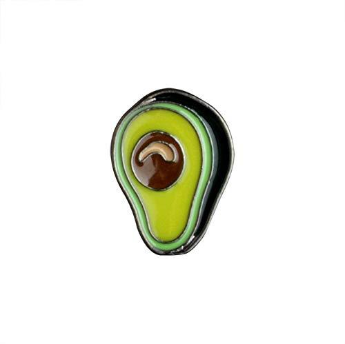 Wonderful Day Mode Regenbogen Emaille Revers Cartoon Pins Früchte Lebensmittel Mix Broschen Abzeichen Rucksack Süße Pins Geschenke Für Freunde, Avocado