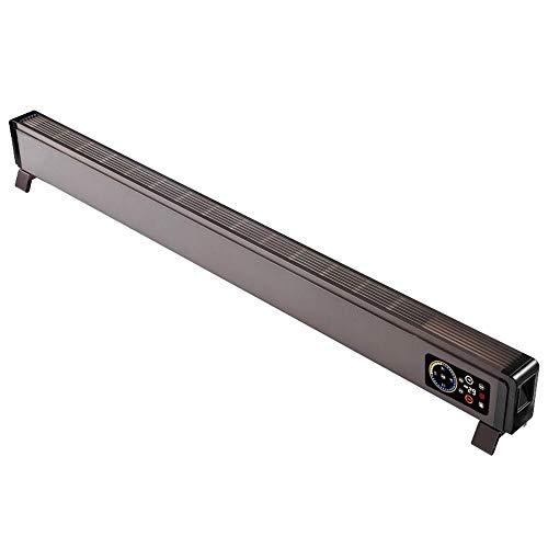 Elektrische verwarmingsstrip, verwarming met thermo-cut-off bescherming, omkiepen, schakelaar, anti-vorst, laag niveau, digitale timerprofiel bruin