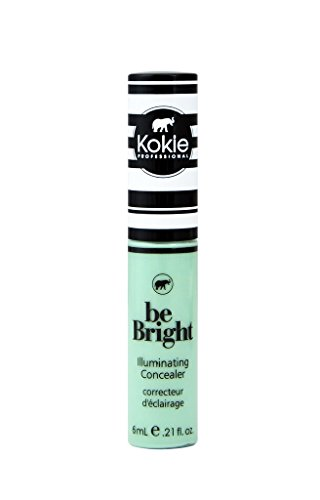 Kokie Cosmetics Be Bright - Concealor and Color Correctors, Green Color Correct, 0.21 Fluid Ounce