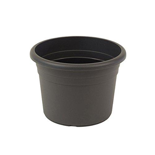 greemotion Pflanzkübel Fiona, UV-Beständiger Blumentopf aus Kunststoff, Pflanzgefäß mit Bodenlöchern, Volumen ca. 96 l, ca. Ø 70 x H 49,5 cm