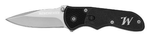 Winchester 31-000723 Drop Point Fine Edge Clip Folding Knife