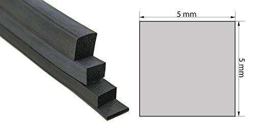 Vierkantprofil Profil EPDM
