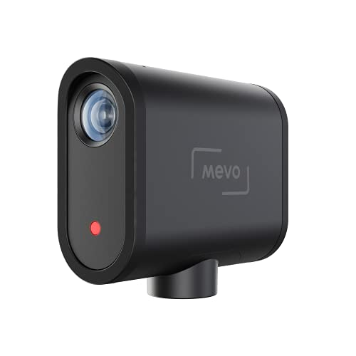 Mevo Start, The All-in-One Wireless Live Streaming Camera and Webcam. Live Stream in 1080P HD and Remote Control with Dedicated iOS and Android App