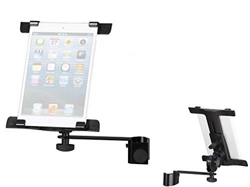 Proel PROIPS03 - Supporto Stand Universale In Metallo per Tablet o iPad con Aggancio per Asta Microfono (PROIPS03)