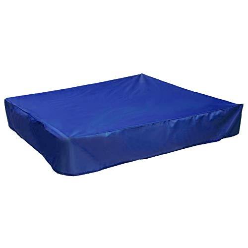 120x120x20cm Sandkastenplane Abdeckung Blau für Sandkasten Abdeckplane Sandkastenabdeckung Plane