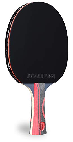 New JOOLA Infinity Edge - Tournament Performance Ping Pong Paddle w/Pro Carbon Technology - Black Ru...