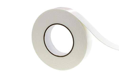 Double Sided Tape Foam Mounting Tape For Decorations, Poster, Frame And Photo, Including Office and Kitchen, 1.2 In × 11 Yd, 1/25 (1mm) Thick, White