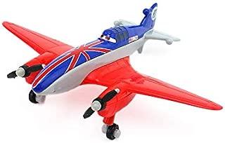 Disney Disney Pixar Planes No.11 Bulldog 1:55 Diecast Metal Alloy Toy Plane Model Loose Kids Boy Xmas Birthday Gift