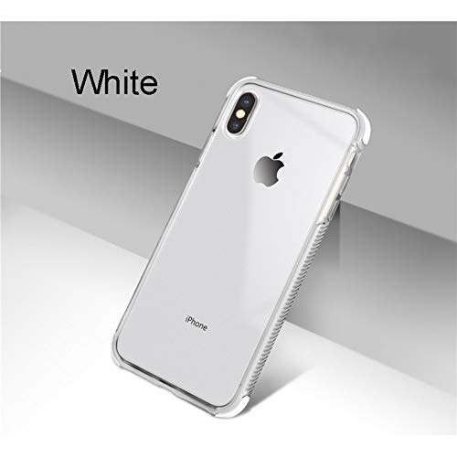 SFJUL telefoonhoes kleurrijk zacht transparant hoesje voor iPhone XS Max XR X 10 6 6S 7 8 Plus TPU-silicone case voor Samsung Galaxy S8 S9 Plus-S10e Note 8 9