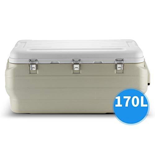 JCOCO Performance Wielkoelbox | 170L autokoelkast, eten drinken picknick strand camping geïsoleerde ijsverpakking koelbox buitenbierparty koeltransportbox, BBQ's, achterklep