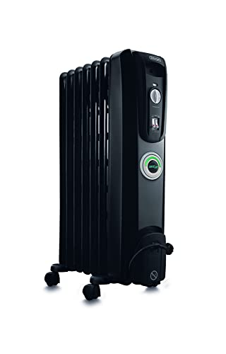 De'Longhi Comfort Temp Full Room Radiant Heater, Black