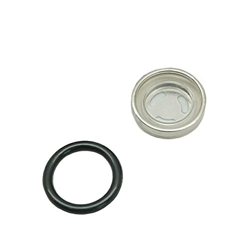 Lente de mirilla de 18 mm para cilindro maestro de embrague de freno delantero trasero de motocicleta