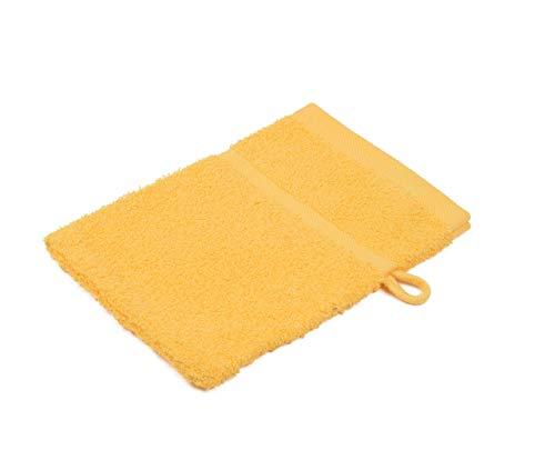 Gözze 7881-11-A1 Gants et carrés de Toilette Orange